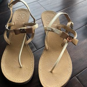 Tory Burch Small Wedge Sandals